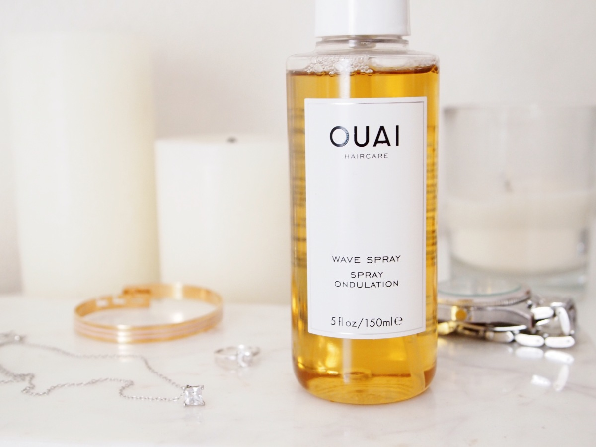 J'ai testé le WAVE SPRAY de THE OUAI